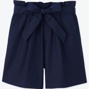 Uniqlo High Rise Belted Shorts, XS